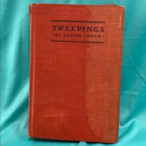 Sweepings by Lester Cohen 1926 First Ed.